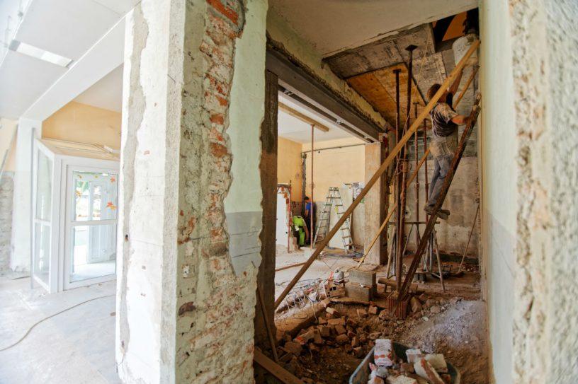 Huis renovatie