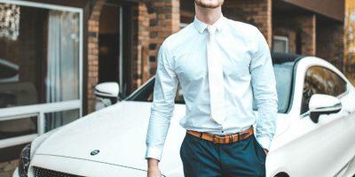 Slim fit overhemd is perfect voor de slanke man